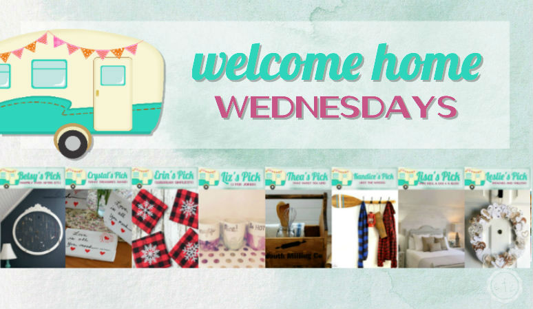 Welcome Home Wednesdays Link Party #77