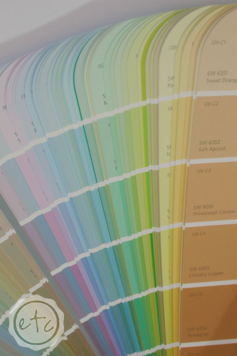 How to see Undertones in Paint Colors
