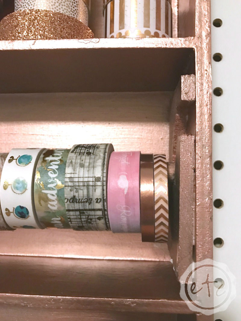 How to Upcycle a Box into a Washi Tape Holder