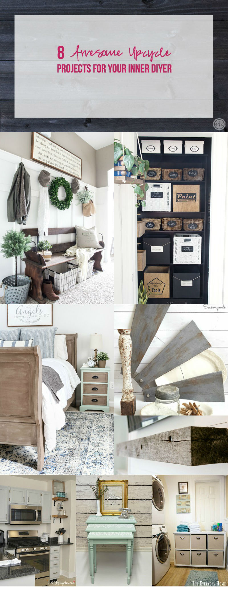8 Awesome Upcycle Projects for Your Inner DIYer
