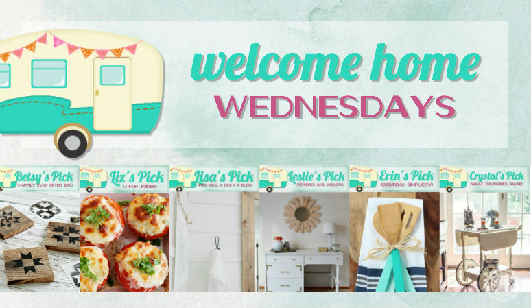 Welcome Home Wednesdays Link Party #83