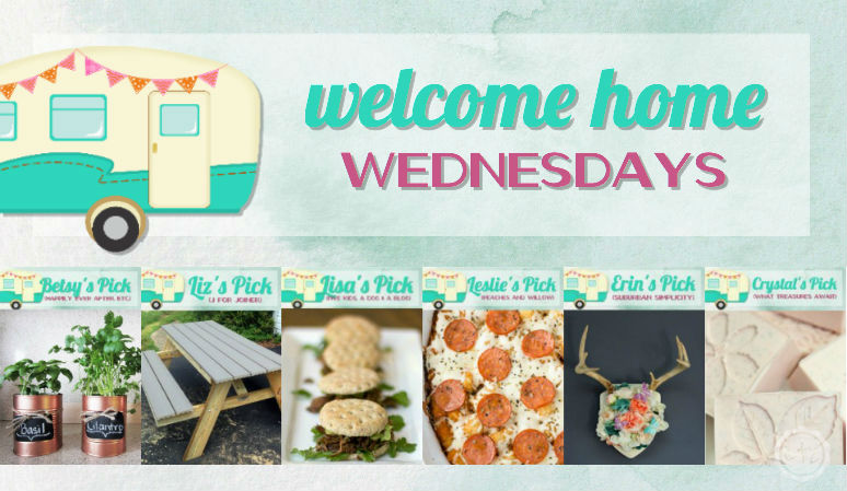 Welcome Home Wednesdays Link Party #84