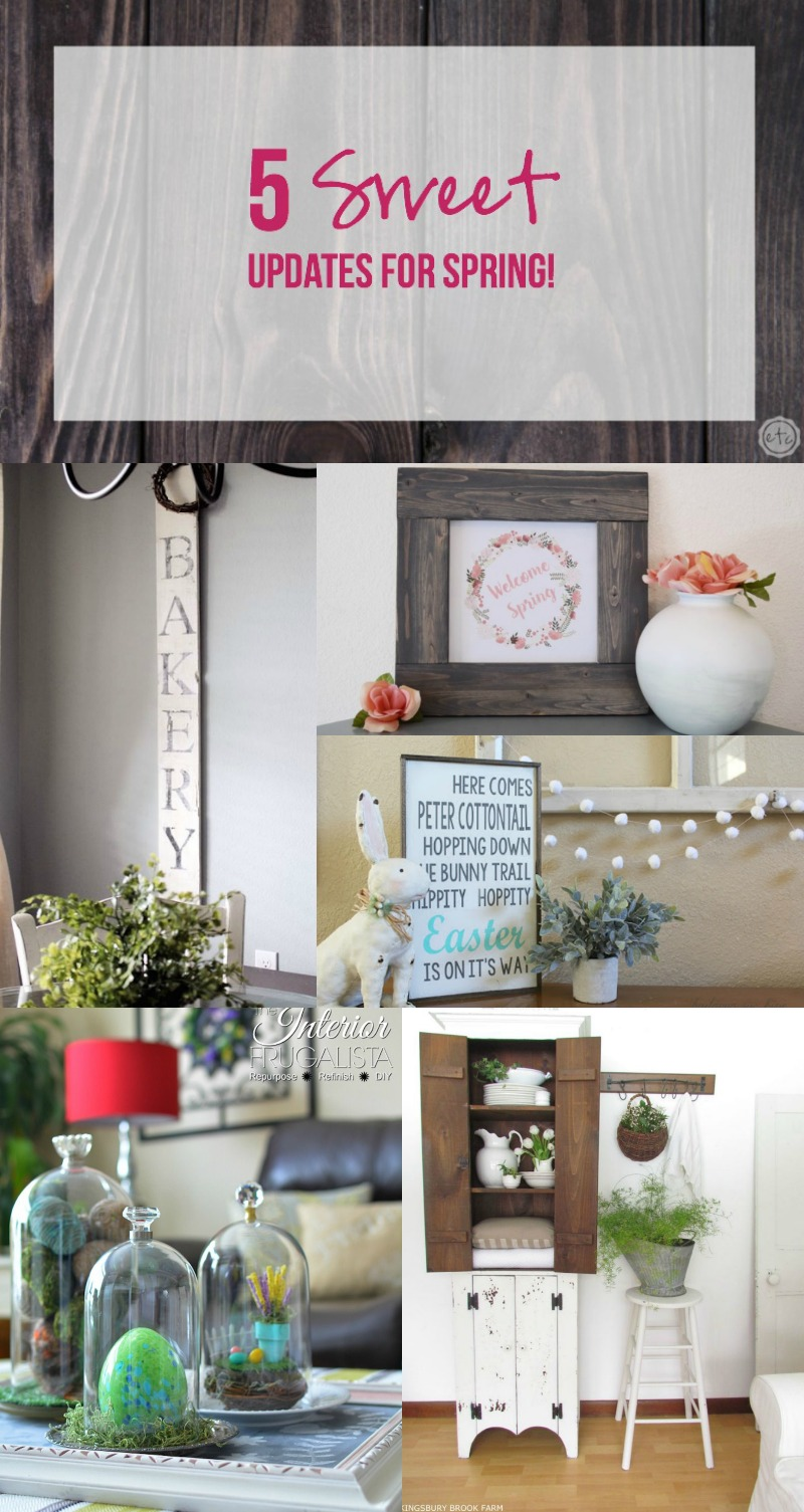 5 Sweet Updates for Spring!