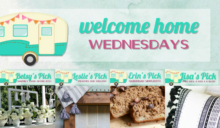 Welcome Home Wednesdays Link Party #89