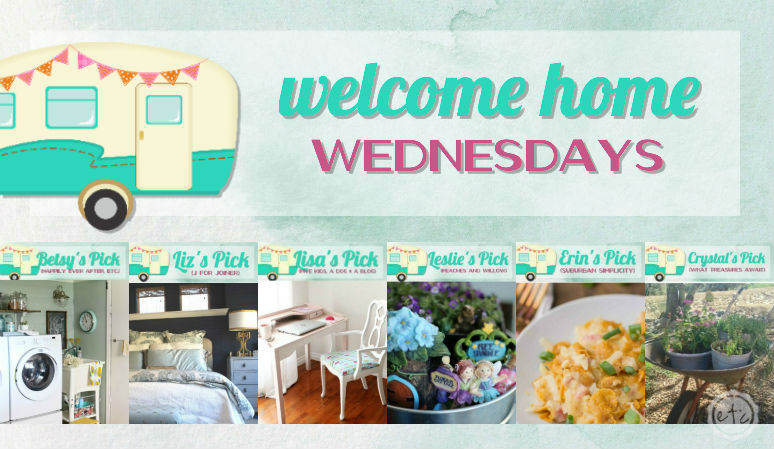 Welcome Home Wednesdays Link Party #88