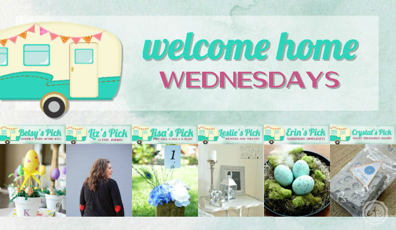 Welcome Home Wednesdays Link Party #87