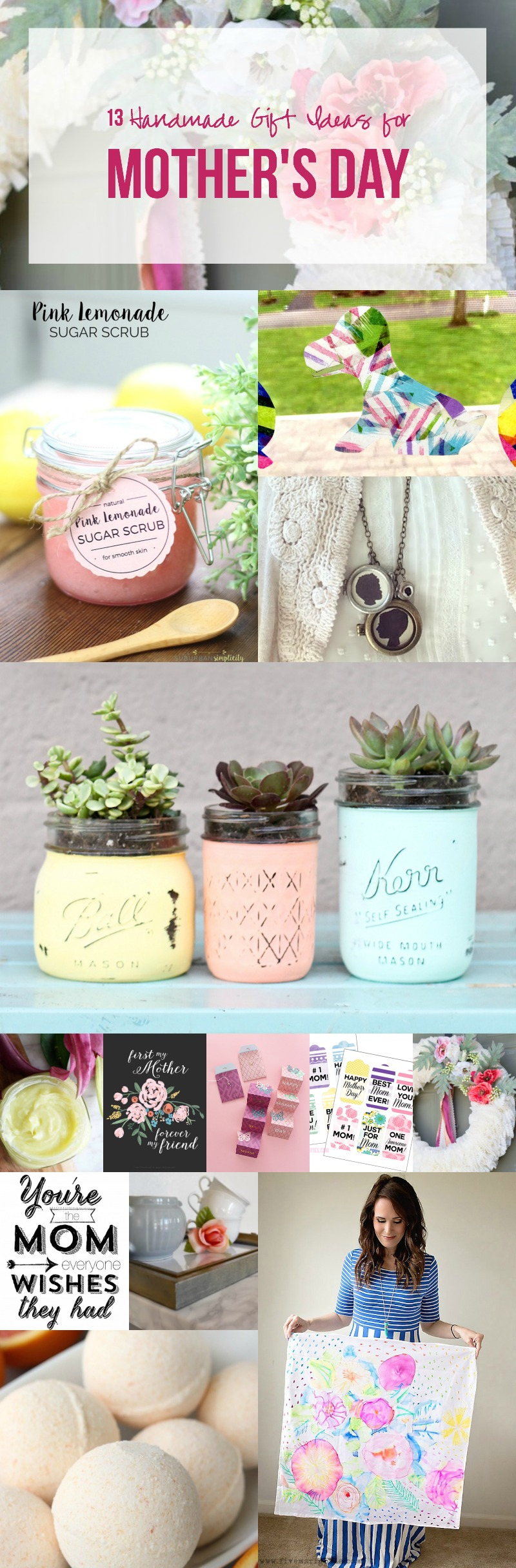 13 Handmade Gift Ideas for Mother's Day