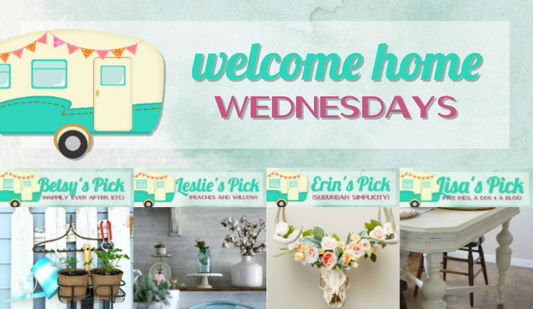 Welcome Home Wednesdays Link Party #90