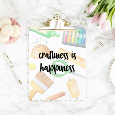 3 Craftiness is Happiness