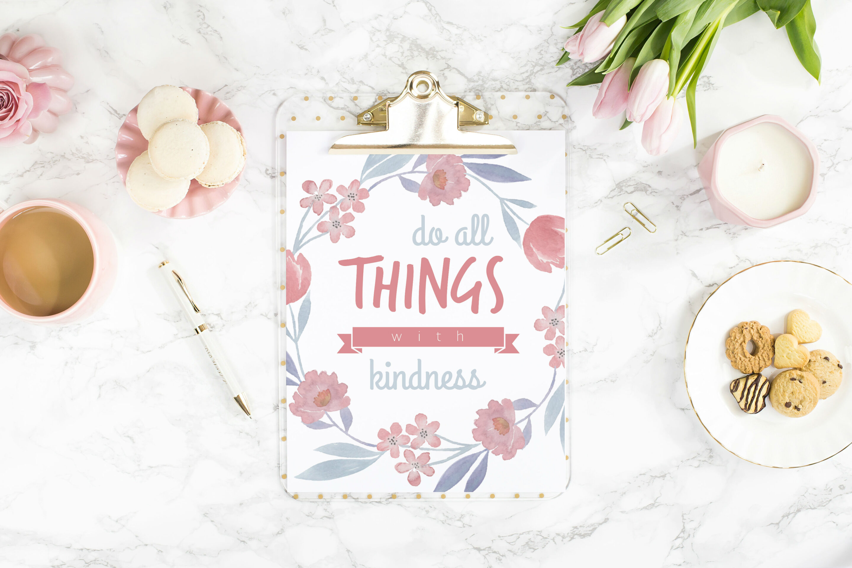 Frame Motivasi Do All Things With Kindness A 56 Putih 2581815 1104180973 by .