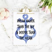 7 Dream Higher than the Sky and Deeper than the Ocean
