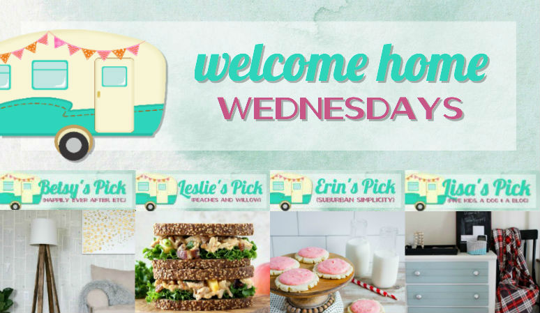 Welcome Home Wednesdays Link Party #96