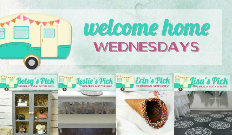 Welcome Home Wednesdays Link Party #95