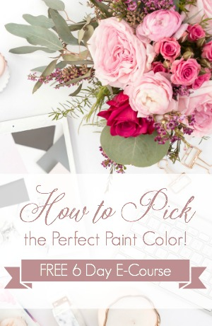 Ready to Pick your Perfect Paint Color? We'll help you with our 6 Day FREE E-Course