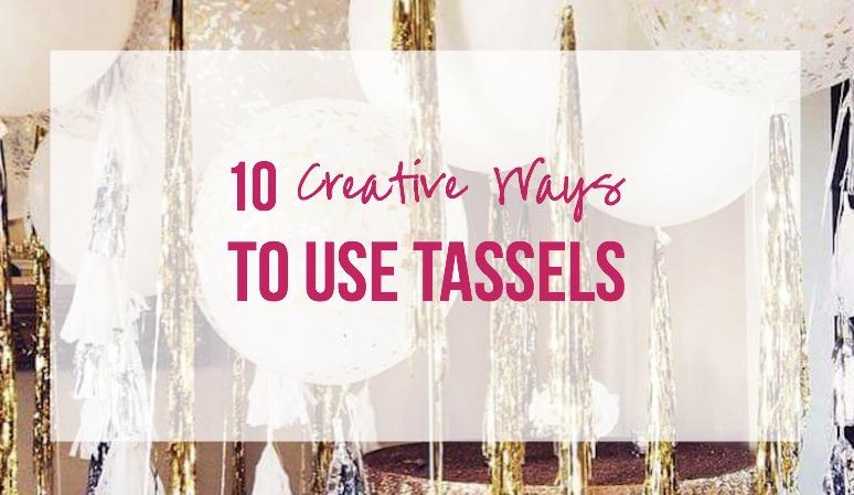 10 Creative Ways to Use Tassels