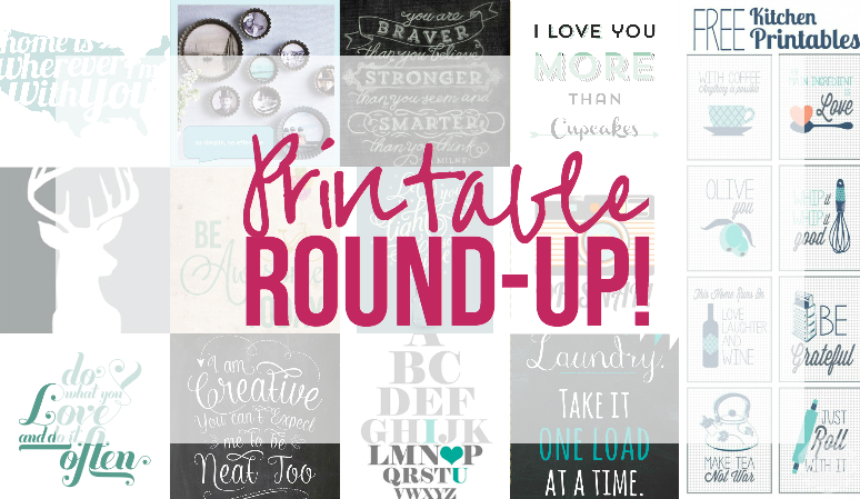 Printable Round-Up with Happily Ever After Etc
