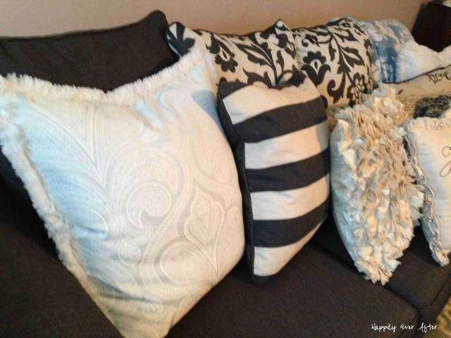 Feathers and Fluff - New Pillows | Happily Ever After Etc.