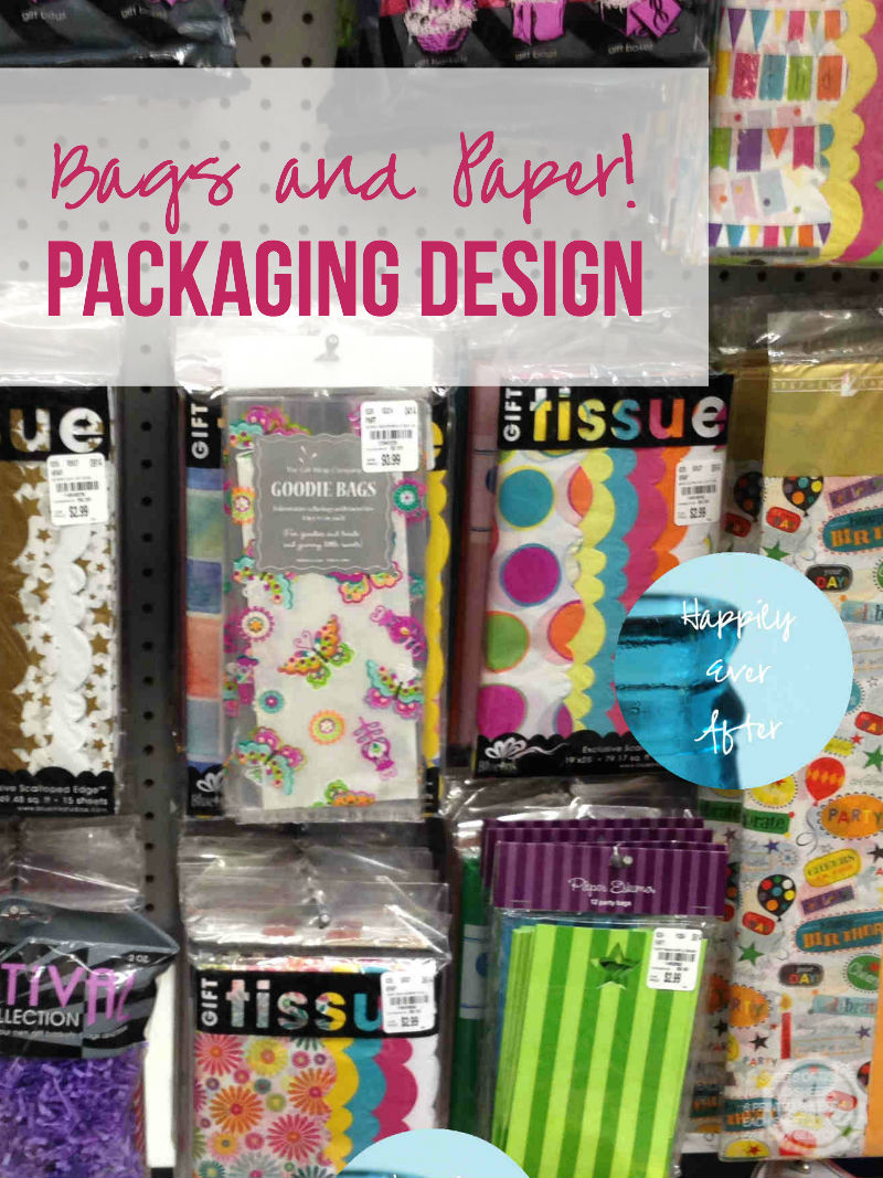 Bags and Paper... packaging design with Happily Ever After, Etc.