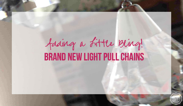 Brand New Light Pull Chains!