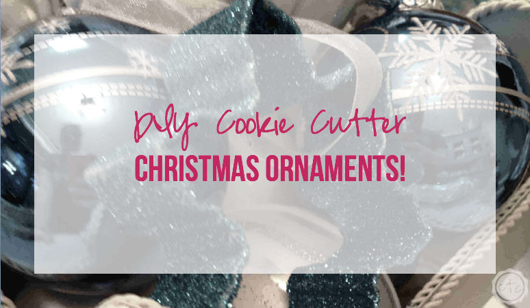 DIY Cookie Cutter Christmas Ornament with Happily Ever After Etc