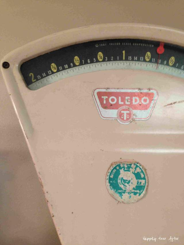 Color me PINK - Antique Toledo Scale | Happily Ever After Etc.