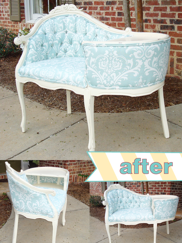 Found It! The story of a Gossip Bench | Happily Ever After Etc.