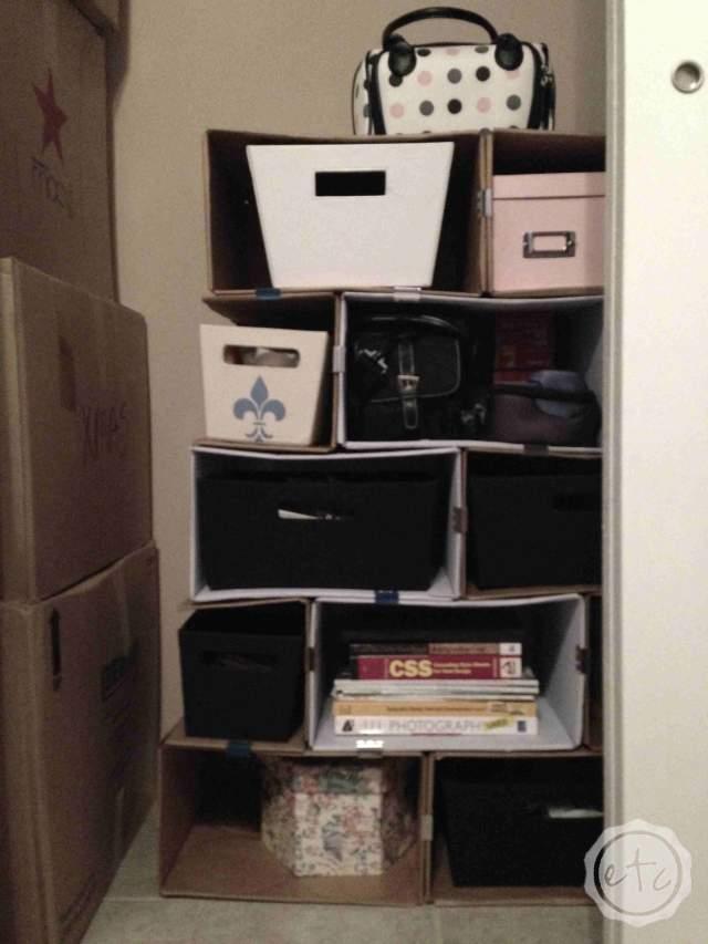 modular bookshelf cardboard brix shelves