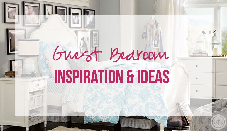 Guest Bedroom Inspiration Ideas with Happily Ever After Etc