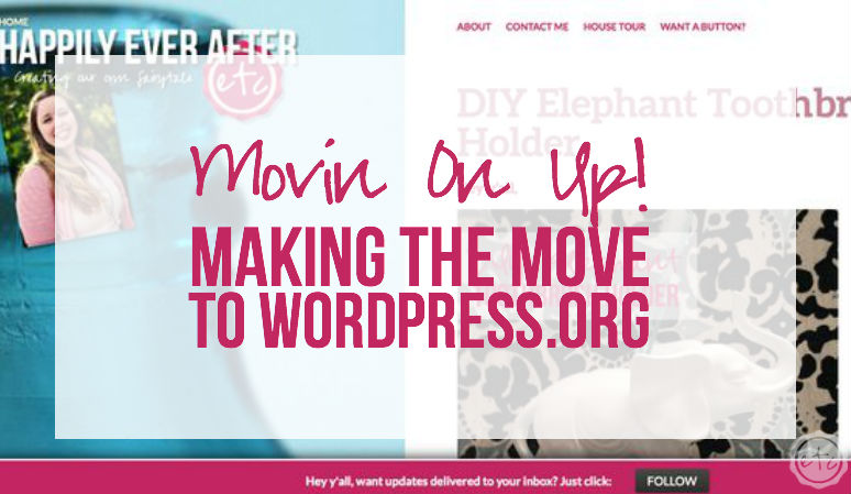 Movin' On Up! Making the Move to WordPress