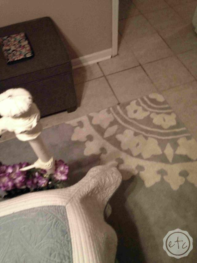 How I picked the perfect size rug... for me   Happily Ever After Etc