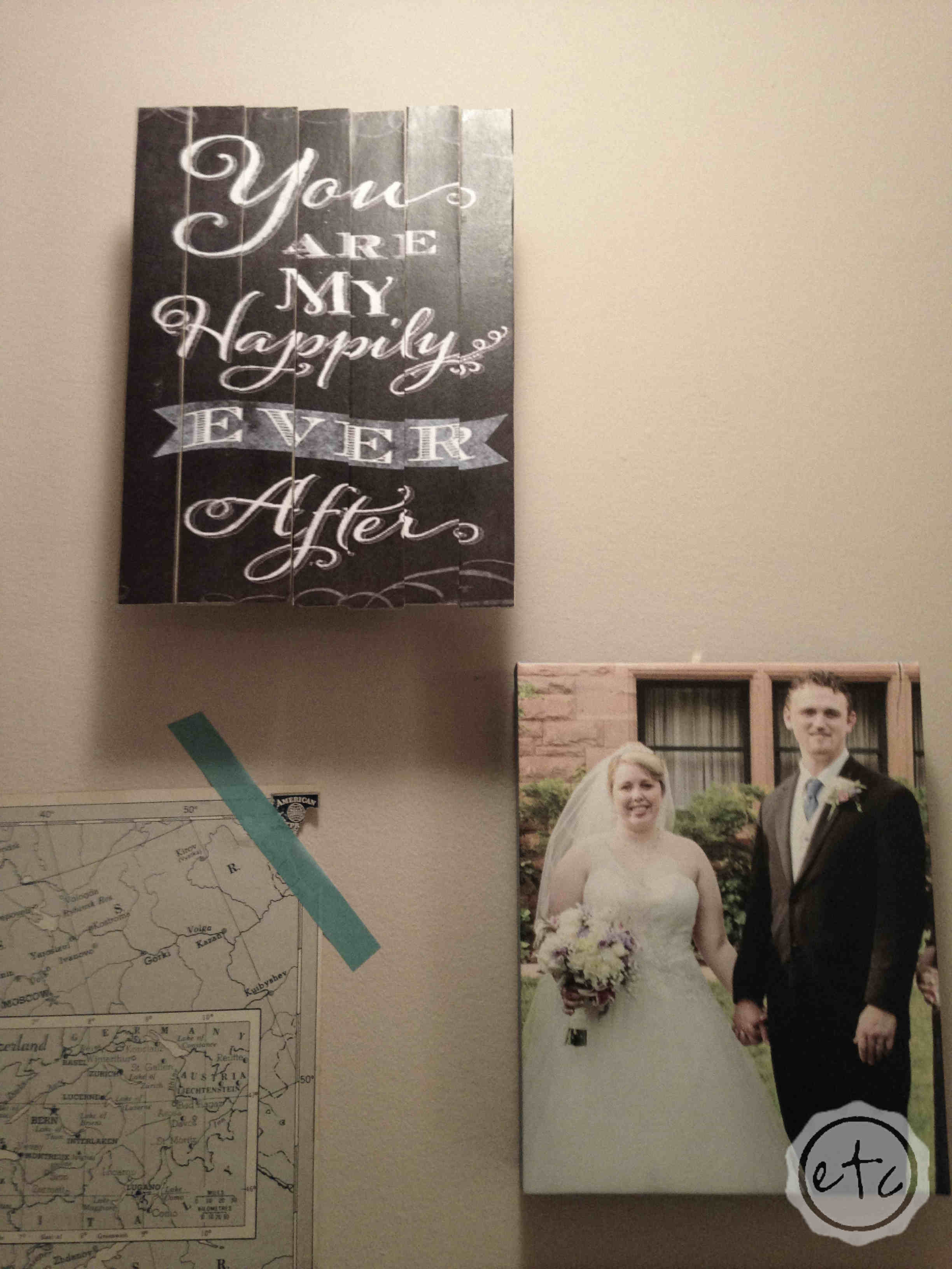 How to Create a Hallway Wall Mural with Happily Ever After Etc.