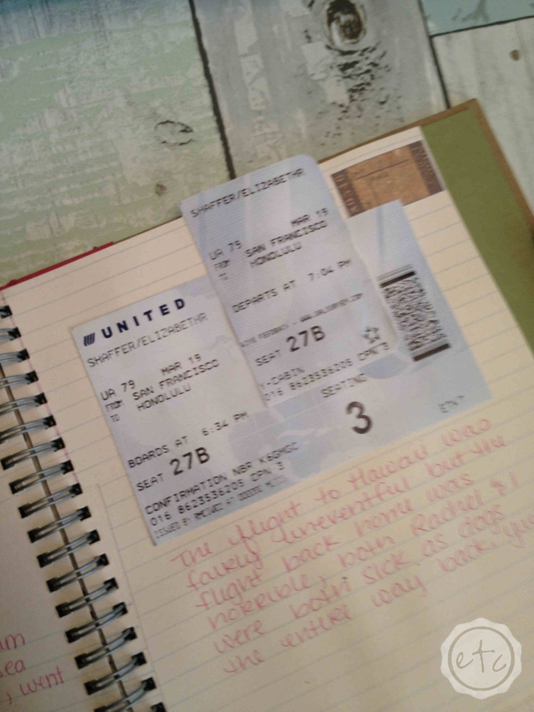 Saving Memories: Ticket Stubs & Other Memorabilia   Happily Ever After, Etc.
