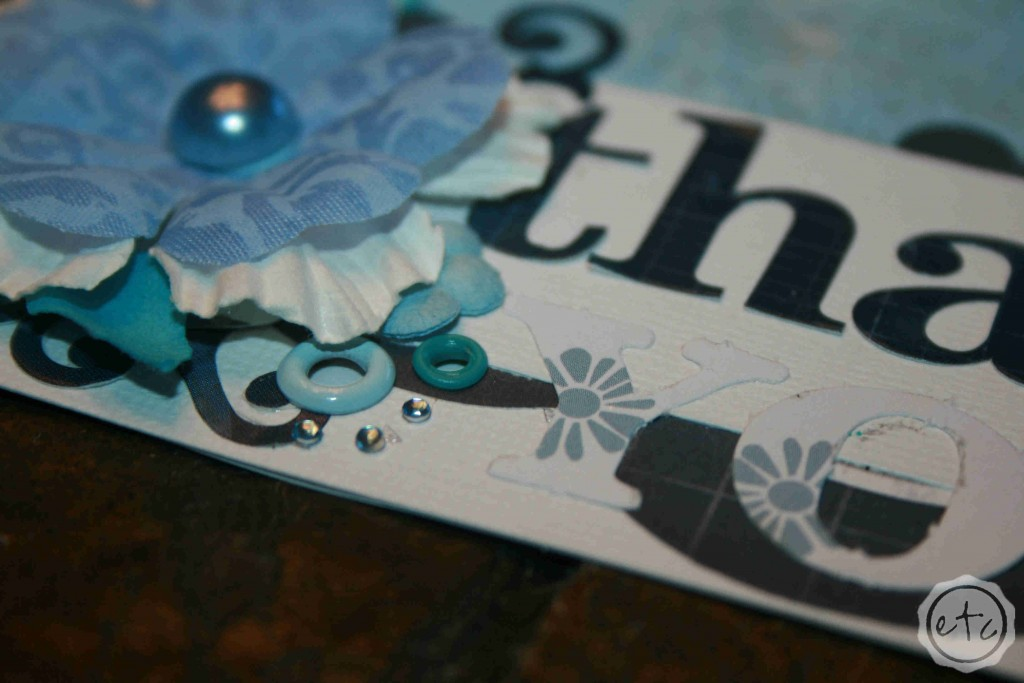 A Handmade Thank You Card | Happily Ever After, Etc.