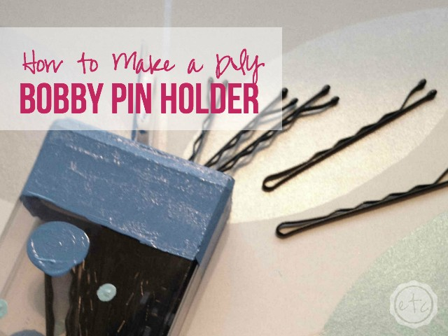 How to Make a DIY Bobby Pin Holder | Happily Ever After, Etc.