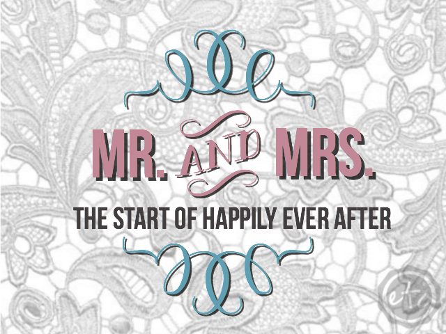 Mr. and Mrs. The Start of Happily Ever After | Happily Ever After, Etc.