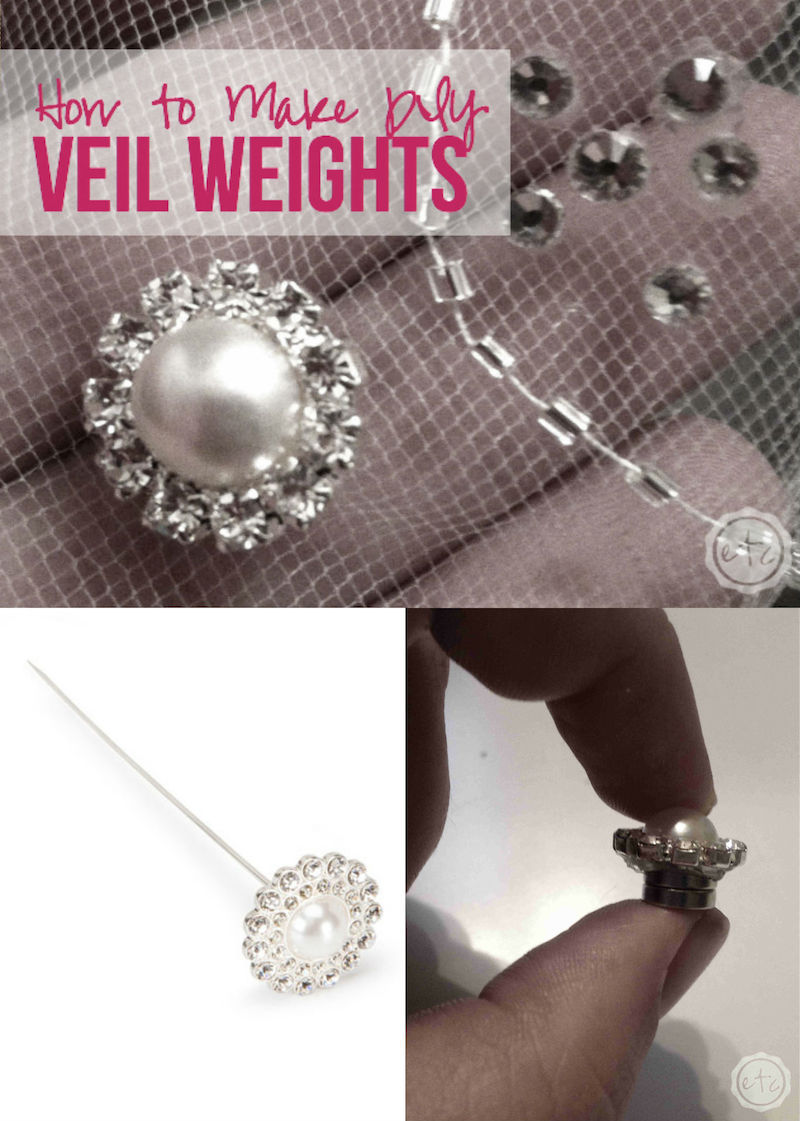 DIY Veil Weights with Happily Ever After, Etc.