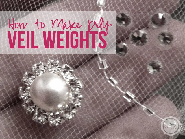 How to Make DIY Veil Weights | Happily Ever After, Etc.