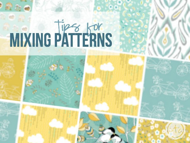 Tips for Mixing Patterns | Happily Ever After, Etc.