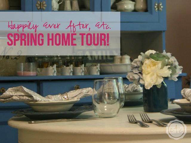 How gorgeous is this spring home tour by Happily Ever After, Etc.?