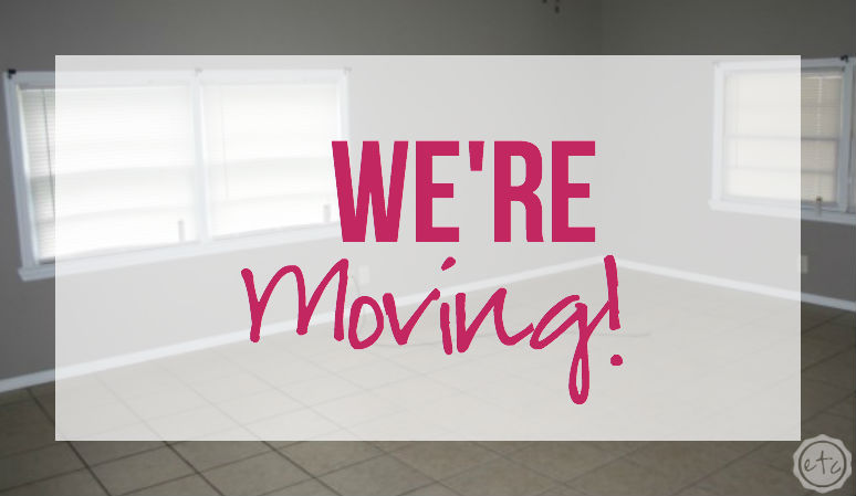 We're Moving! Happily Ever After Etc