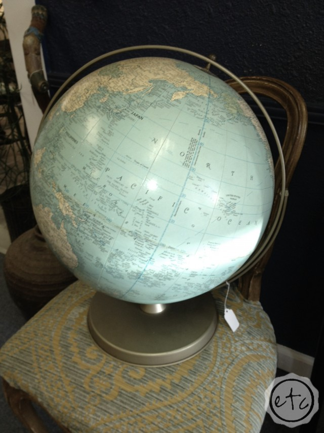 How to Turn a Globe into a Guest Book for your Wedding
