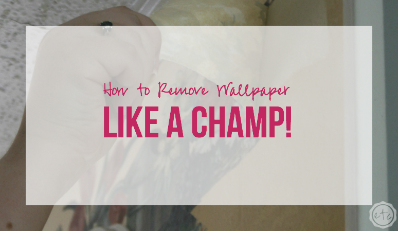 How to Remove Wallpaper Like a CHAMP!