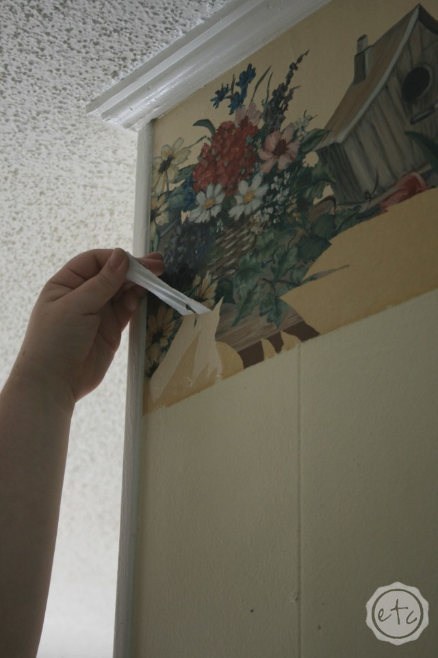How to Remove Wallpaper Like a CHAMP! with Happily Ever After, Etc.