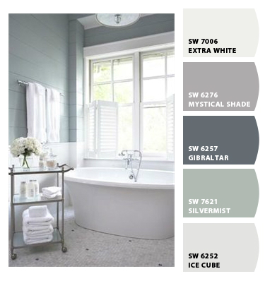 Liveable luxe picking paint colors happily ever after for Silver mist paint color