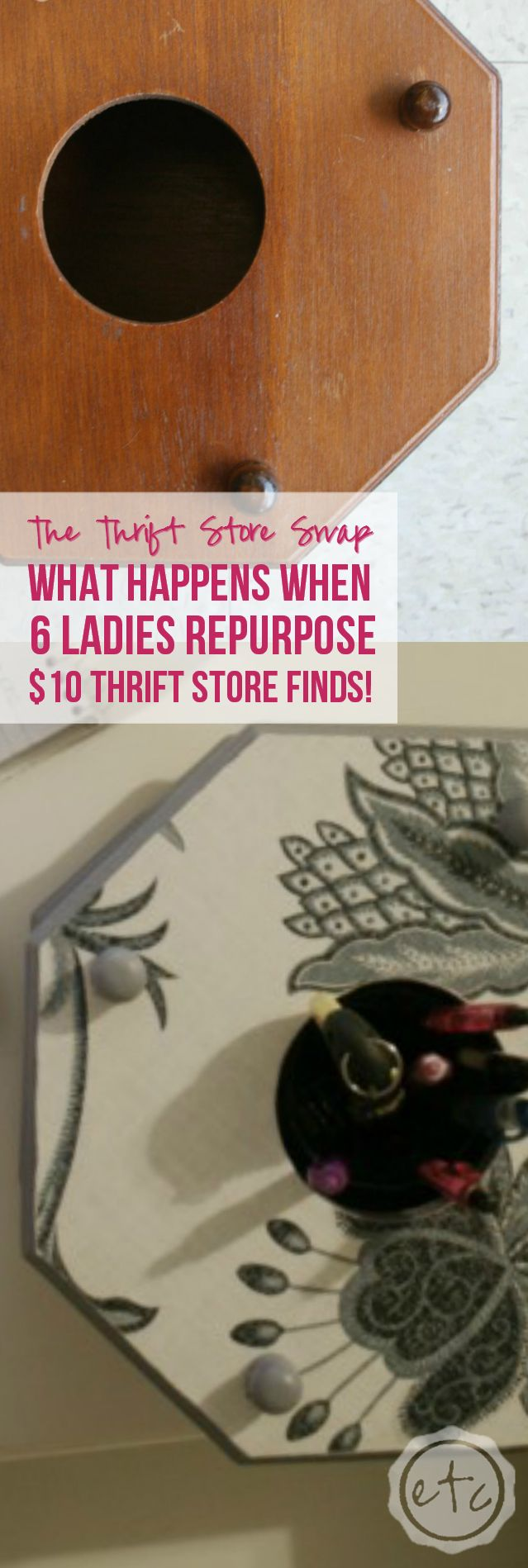 the Thrift Store Swap with Happily Ever After, Etc.