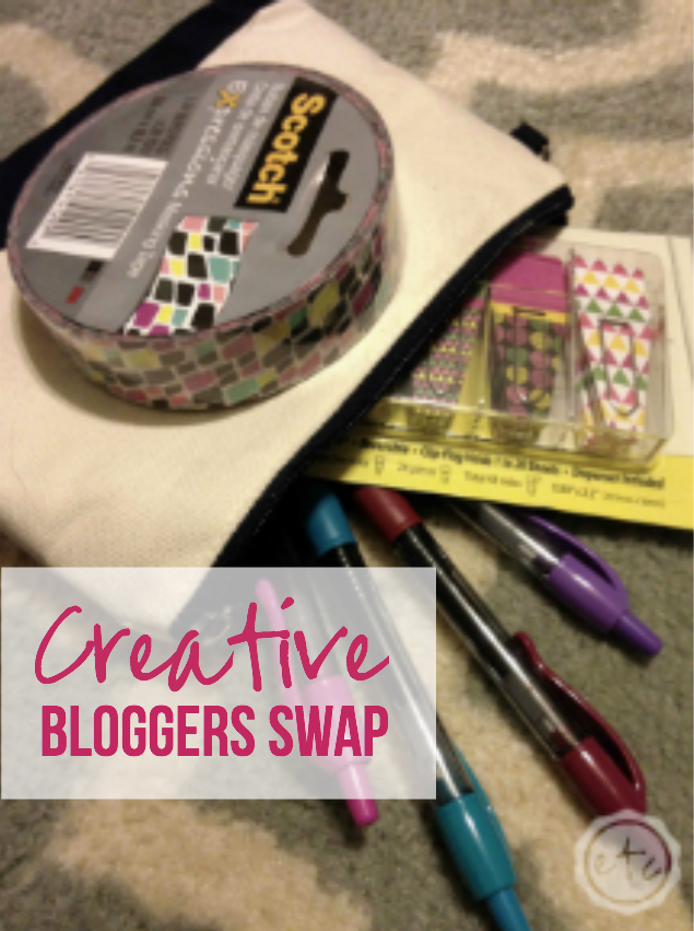 Creative Bloggers Swap with Happily Ever After, Etc.