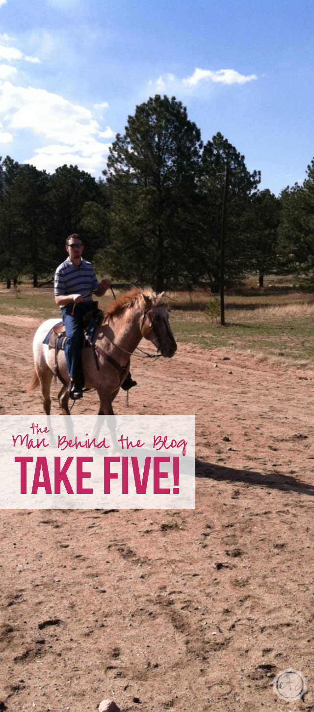 Man Behind the Blog... Take 5! Happily Ever After, Etc.