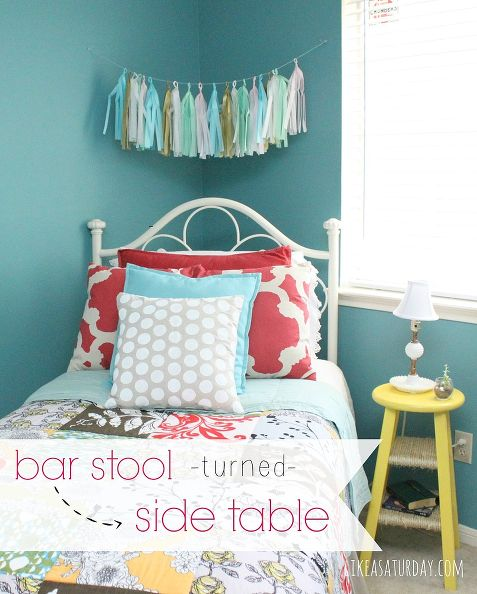Non-Traditional Bedside Tables with Happily Ever After, Etc.