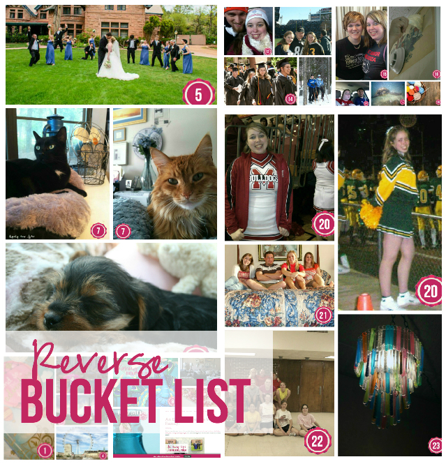 Reverse Bucket List with Happily Ever After, Etc.