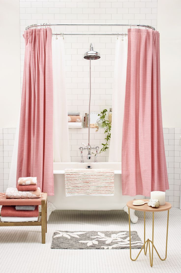 4 pink bathtub